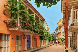 cartagena colombia old town beste reistijd colombia