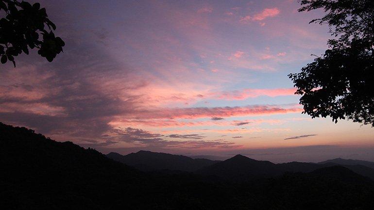 Minca Colombia Casa Elemento uitzicht hangmatten