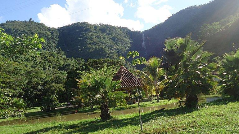 San Gil Colombia waterval Cascadas de Juan Curi
