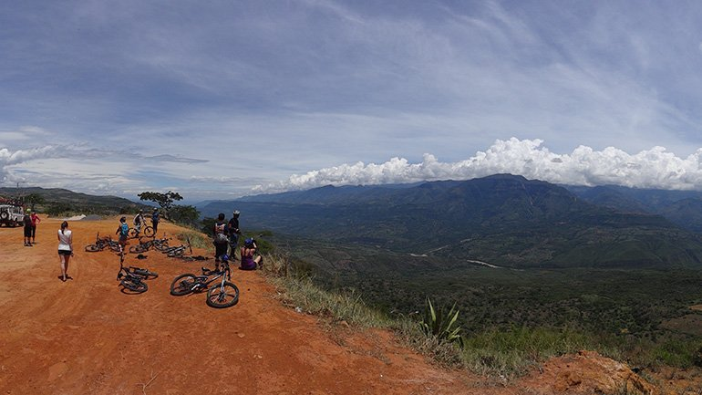Mountainbiken San Gil Colombia