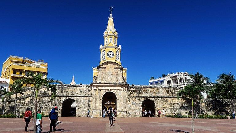 cartagena colombia old town oude stad las murallas mappea