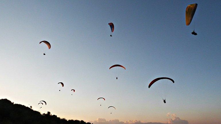 Paragliden San Gil Colombia canon chicamocha parapente
