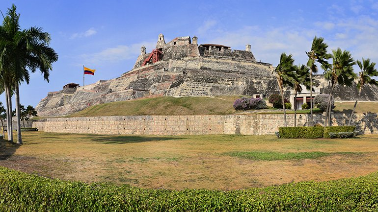 cartagena colombia castillo san felipe