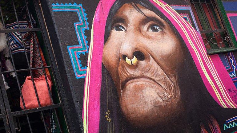 Streetart Graffiti tour bogota colombia