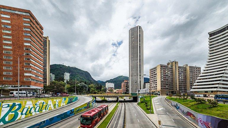 Torre Colpatria Bogota Colombia casa narino