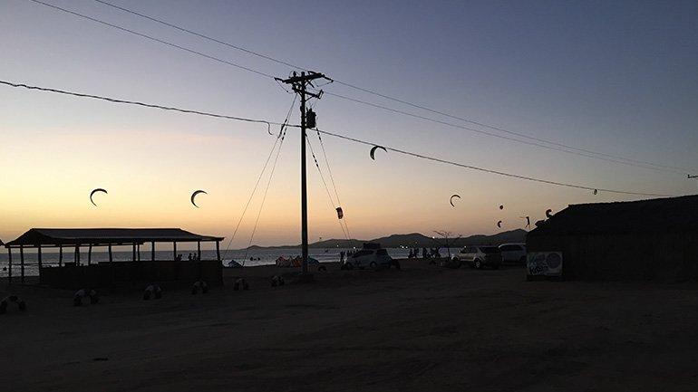 Colombia Cabo de la Vela windsurfen