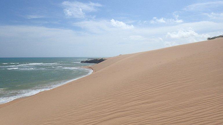 Punta Gallinas Santa Marta Colombia zand duinen