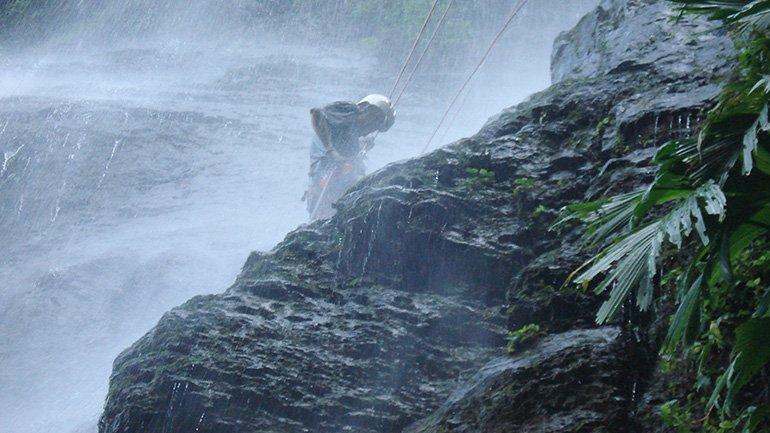 Colombia Abseilen Cascadas de Juan Curi