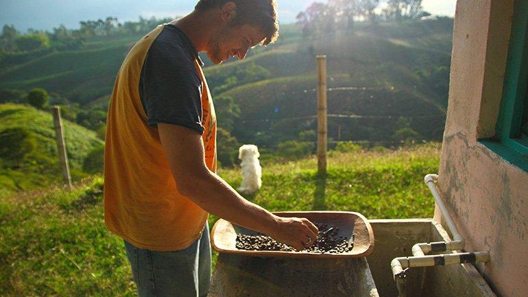 Salento Colombia koffietour sachamama reserva